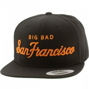 Heritage Headwear Big Bad San Francisco Cap (black / orange)