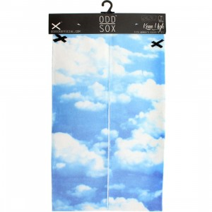 Odd Sox Sky High Knee High Socks (purple) 1S