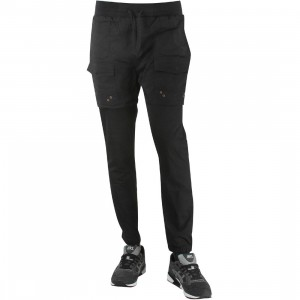 Unyforme Men Sliver Pants (black)