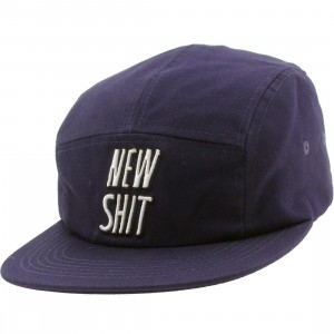 Lazy Oaf New Shit Cap (blue)