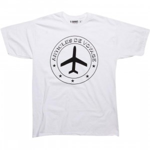 Passport ADV Stamp Tee (white)