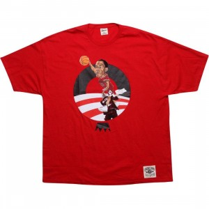 Under Crown Obama O-Face Tee (Bulls - red)