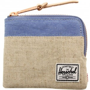 Herschel Supply co Johnny Wallet (tan / natural hemp)