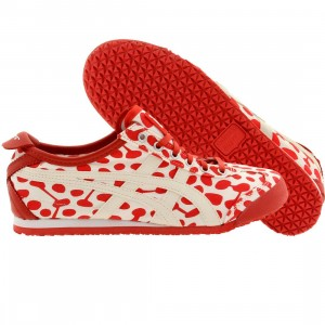 Onitsuka Tiger x Makumo Women Mexico 66 - Natto (red / natto kurenai / white)
