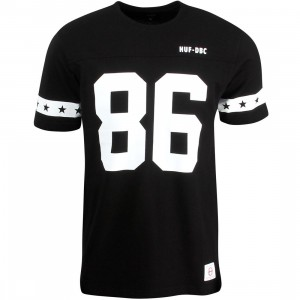 HUF Men 5 Star Football Jersey (black)