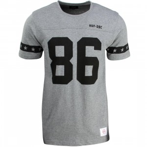 HUF Men 5 Star Football Jersey (gray / heather)