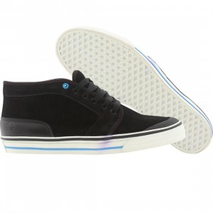 Cause Middle Cut Chukka (black)