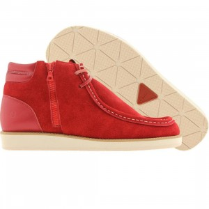 Cause Side Zip Wallaby (red)