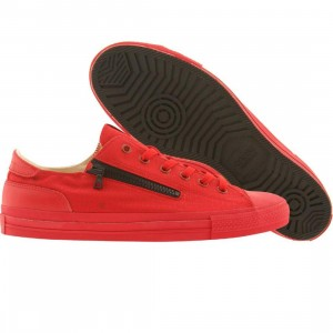 Cause Side Zip Low (red / black)