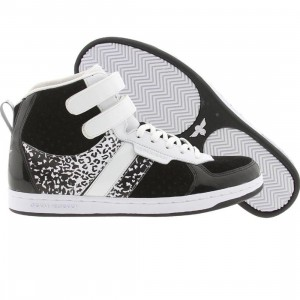 Creative Recreation Womens Dicoco (black / white / cheetah)