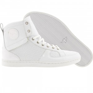 Creative Recreation Solano (white / white patent)