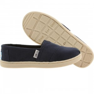 Toms Little Kids Classics (navy / canvas)