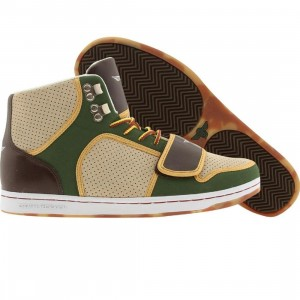 Creative Recreation Cesario (khaki / forest / oil brown / wheat)