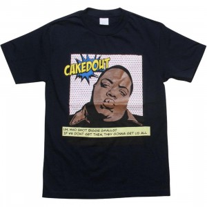 Caked Out Big Pop Tee (navy)