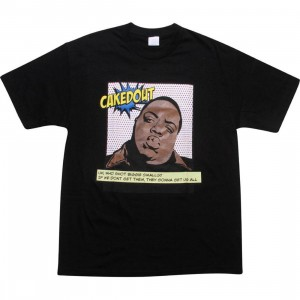 Caked Out Big Pop Tee (black)