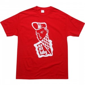 Caked Out Ice Ice Baby Tee (red)