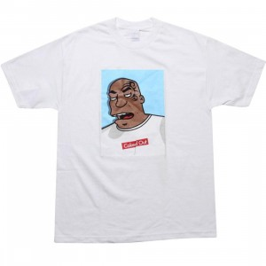 Caked Out Biter Tee (white)