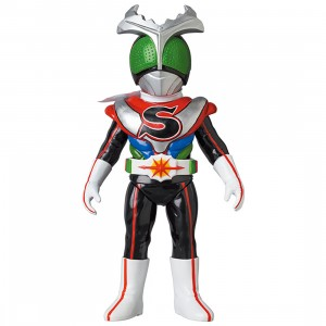 PREORDER - Medicom Kamen Rider Stronger Charge Up Sofubi Figure (black)