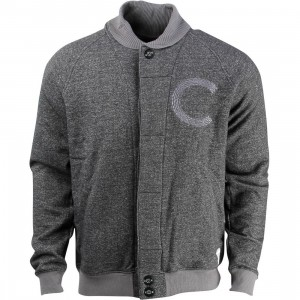 Crooks and Castles Men Big C Jacket (black)