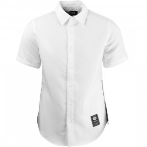 Courtesy Of Men The Jonathan Short Sleeve Shirt (white)