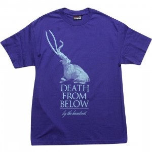 The Hundreds Death From Below Tee (purple)