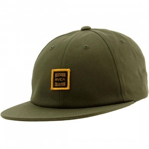 RVCA Recession Collection Adjustable Cap (olive)