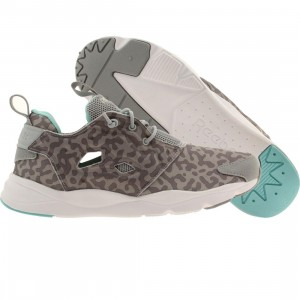 Reebok Women Furylite (gray / baseball gray / gray / white / blue)
