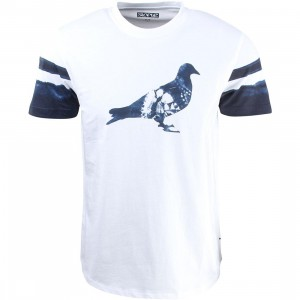Staple Men Indigo Pigeon Tee (white)