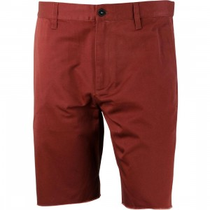 RVCA Men Dayshift Cutoff Shorts - Recession Pack (burgundy / red earth)