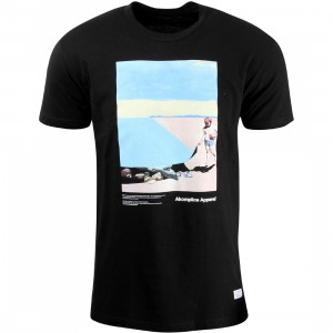 Akomplice Men Ocean Lies Tee (black)