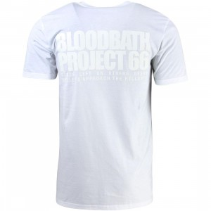 Bloodbath Men Eyecon Tee (white)