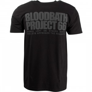 Bloodbath Men Eyecon Tee (black)