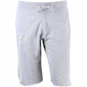 Bloodbath Men Crew Shorts (gray / heather)