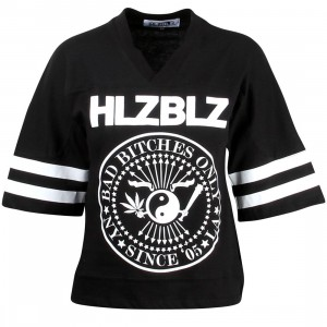 HLZBLZ Women Number Bad Short Sleeve Shirt (black)