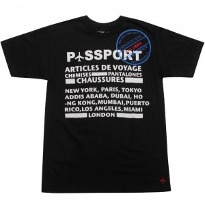 Passport Articles De Voy Tee (black)