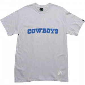 Undefeated Cowboys Tee (silver)