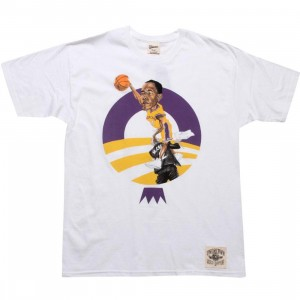 Under Crown Obama O-Face Tee (Lakers - white)