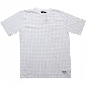 Undefeated All Over Strike Tee (white)