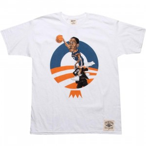 Under Crown Obama O-Face Tee (Knicks - white)