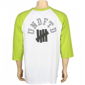 Undefeated Baseball Raglan Arch Strike (white / green)