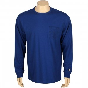 Undefeated Splatter Pocket Long Sleeve (blue)