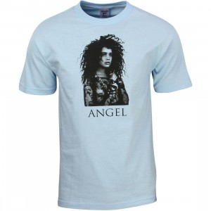 Acapulco Gold Men Dark Angel Tee (blue / light blue)