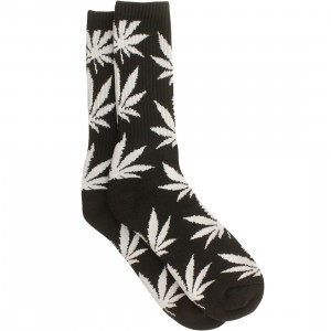 HUF Plantlife Crew Socks - Essentials (black) 1S