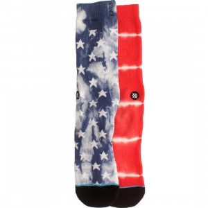 Stance Patriot Red Socks (red)