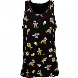 Eleven Paris x Simpsons Men Krustank - Krusty Tank Top (black)