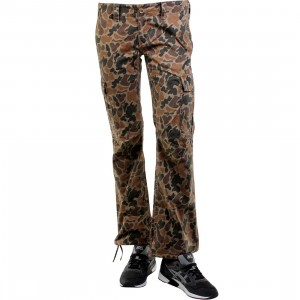Stussy Womens Skull OG Camo Pants (brown)