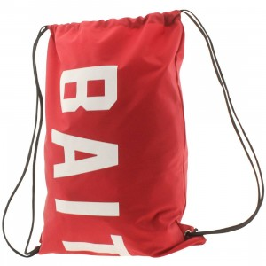BAIT Logo Nylon Sachet Bag (red)