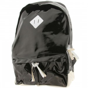 Dumb Book Bag (black / white)