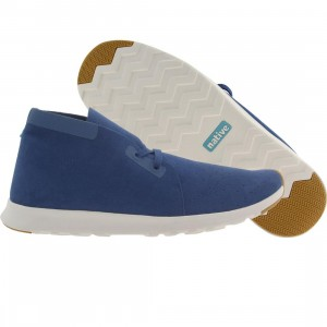 Native Men Apollo Chukka (blue / victoria / shell white)