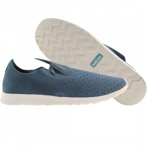 Native Men Apollo Moc (blue / shell white)